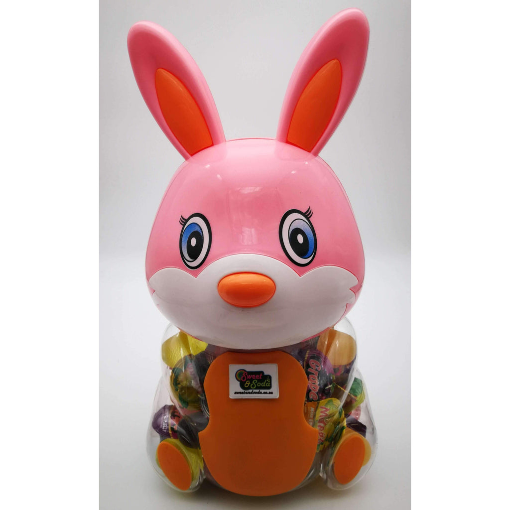 BUNNY MONEY BANK - JELLY CUPS 70pcs