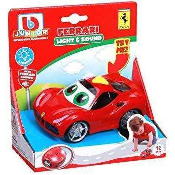 BURAGO JUNIOR LIGHT & SOUND FERRARI