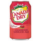 CANADA DRY CRANBERRY GINGER ALE 355ml