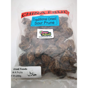 CF TRADITIONAL DRIED SOUR PRUNE 200g
