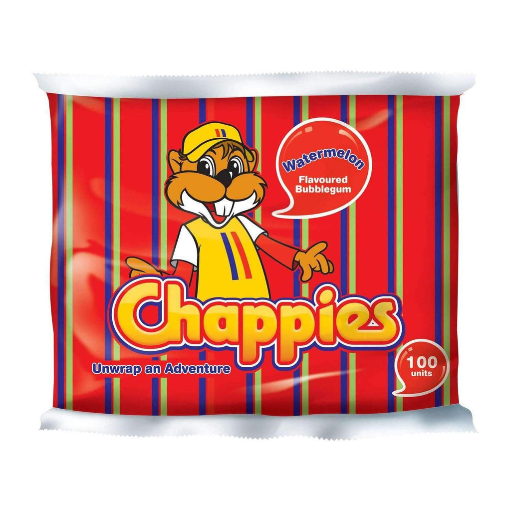 CHAPPIES WATERMELON 100 UNITS