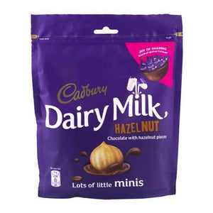DAIRY MILK HAZELNUT MINI'S 168g