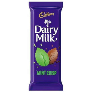 DAIRY MILK MINT CRISP 80g SLAB