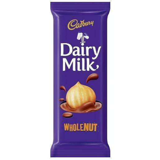 DAIRY MILK WHOLENUT 80g SLAB