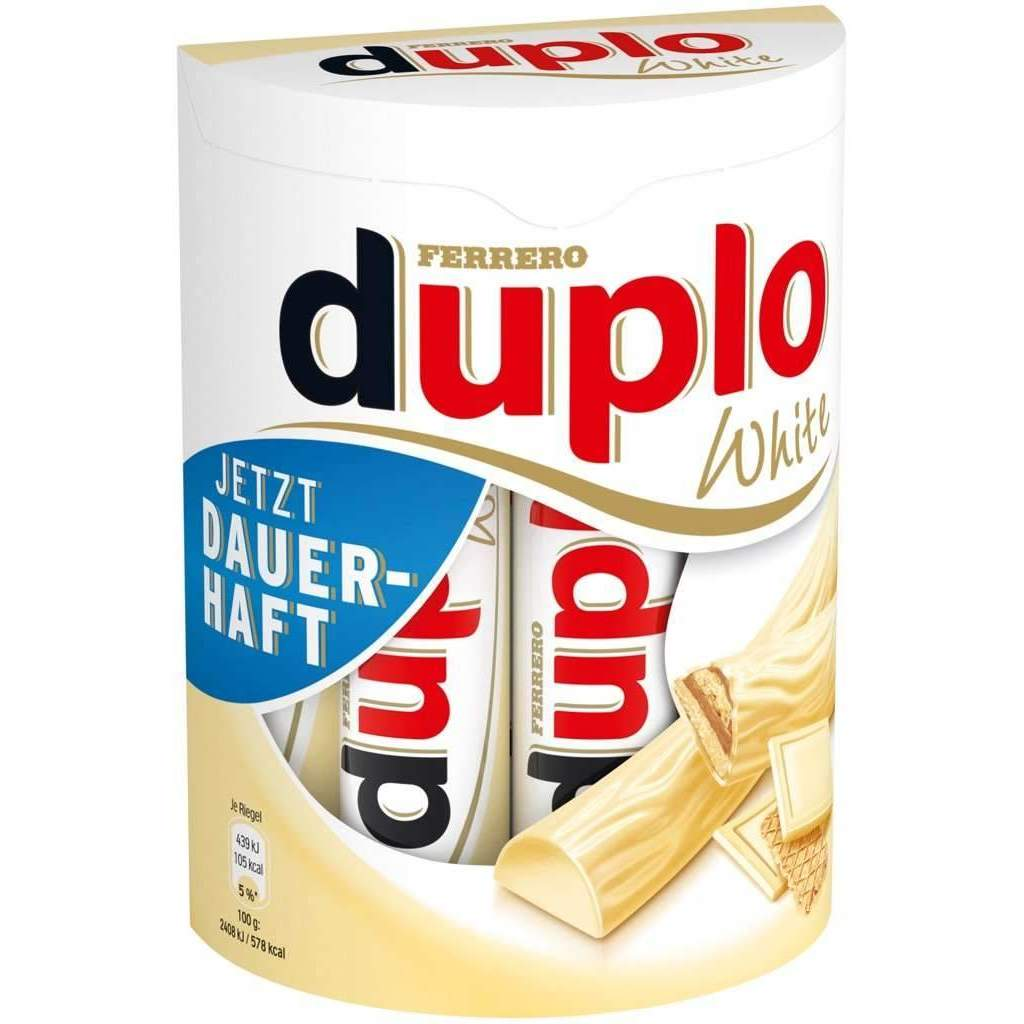 DUPLO WHITE (10x18.2g STICKS)