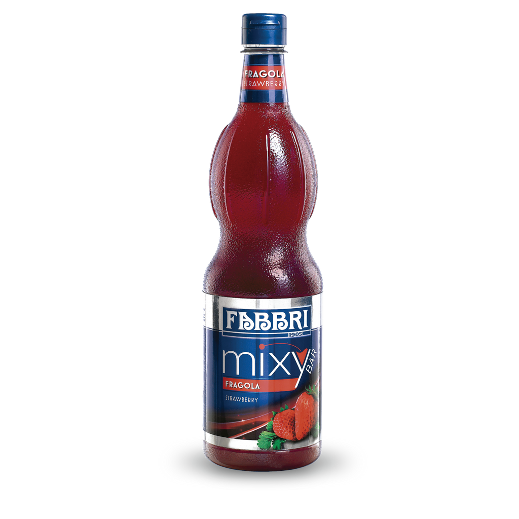 FABBRI MIXYBAR STRAWBERRY 1Lt
