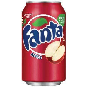 FANTA  APPLE 355ml (RED)