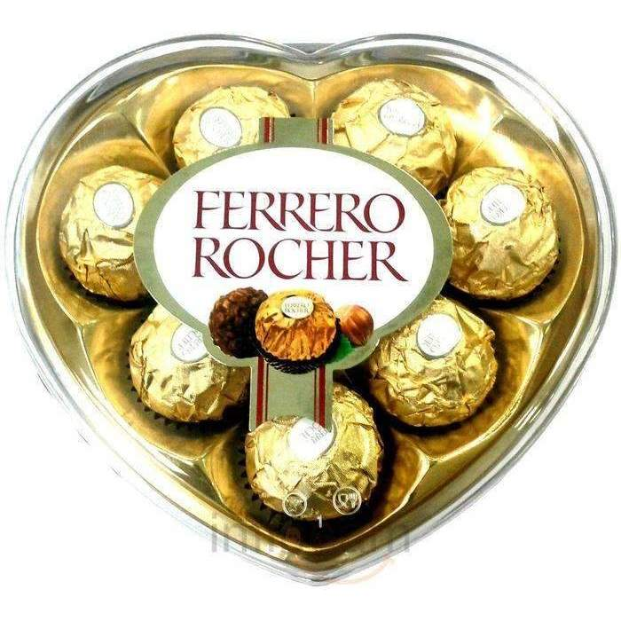 FERRERO T8 HEART BOX