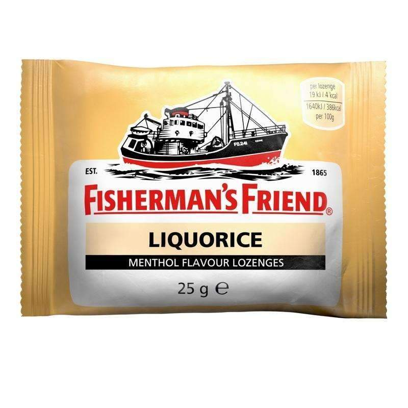 FISHERMAN'S FRIEND LIQUORICE 25g