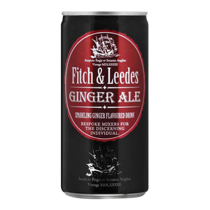 FITCH & LEEDES 200ml CAN GINGER ALE