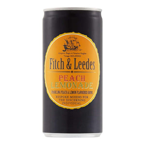FITCH & LEEDES 200ml CAN PEACH LEMONADE