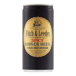 FITCH & LEEDES 200ml CAN SPICY GINGER BEER