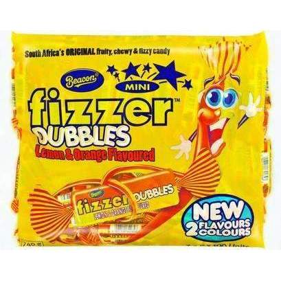 FIZZER MINI DUBBLES LEMON ORANGE 100's