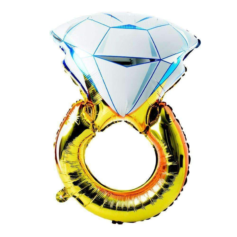FOIL BALLOON DIAMOND RING 90cm