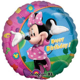 FOIL BALLOON MINNIE MOUSE HAPPY BIRTHDAY 43cm 17797