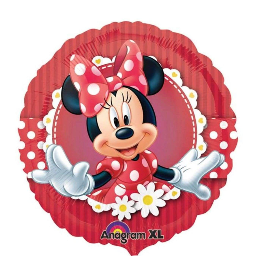 FOIL BALLOON MINNIE MOUSE RED 43cm 24813