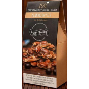 FOREST FAIRIES SUGAR FREE ALMOND BRITTLE 60g