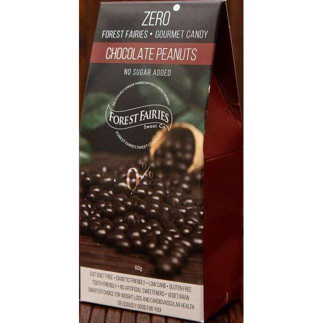 FOREST FAIRIES SUGAR FREE CHOCOLATE PEANUTS 60g