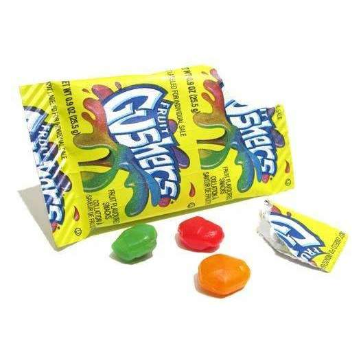 FRUIT GUSHERS 25g POUCH