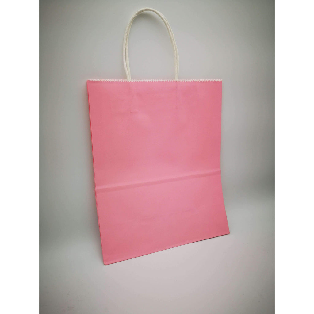 GIFT BAG MEDIUM - 013 - PLAIN BABY PINK