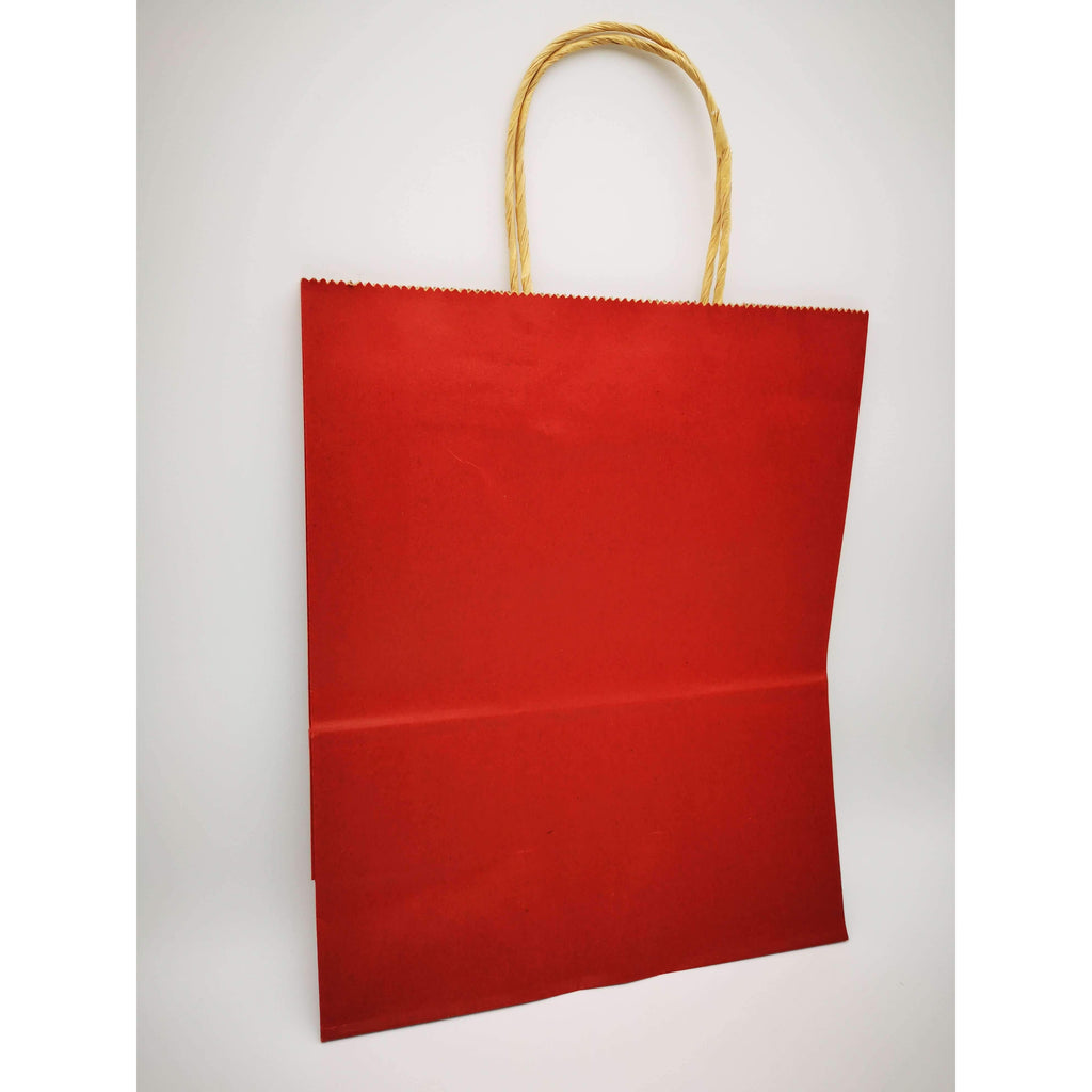 GIFT BAG MEDIUM - 018 - PLAIN MAROON