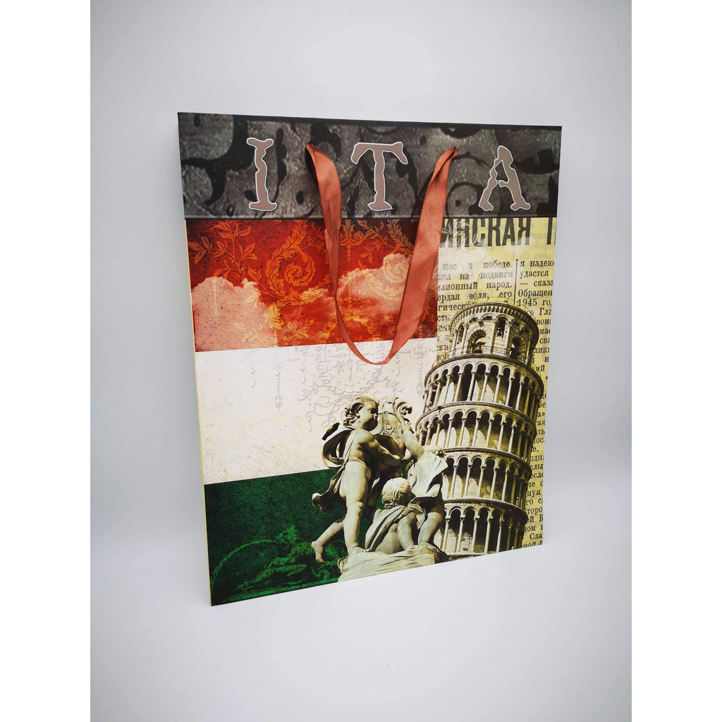 GIFT BAG - 053 - ITALY W/TOWER OF PIZA