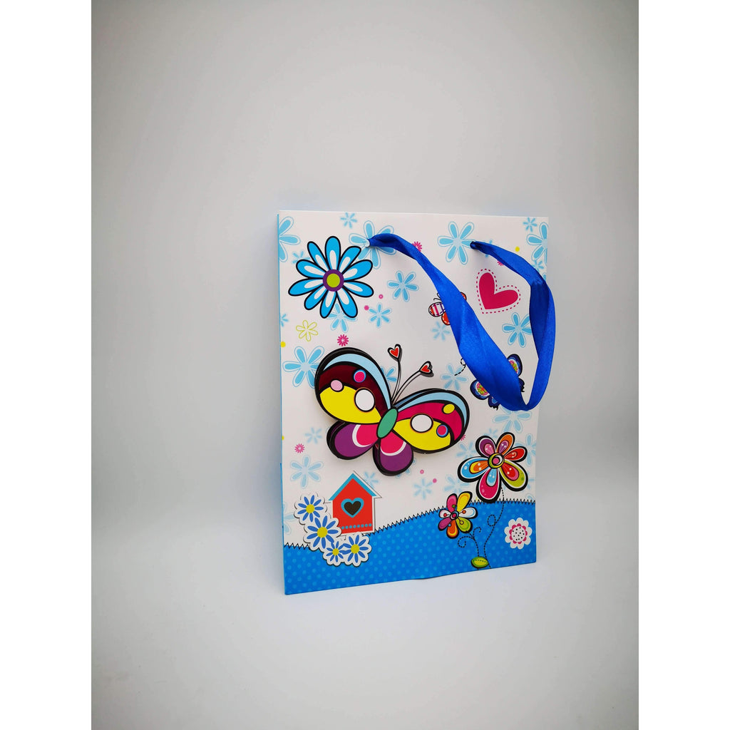 GIFT BAG - 071 - 3D BUTTERFLY W/HOUSE