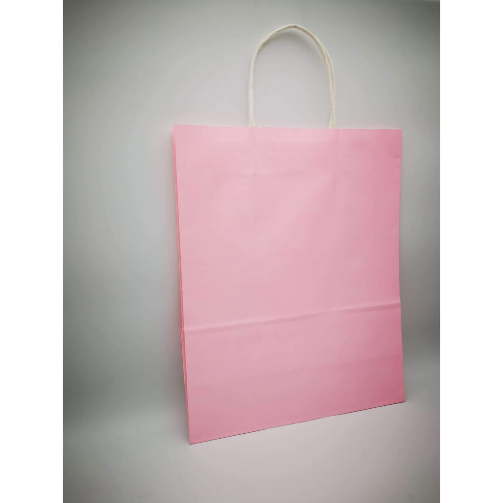 GIFT BAG LARGE  - 086 - PLAIN BABY PINK
