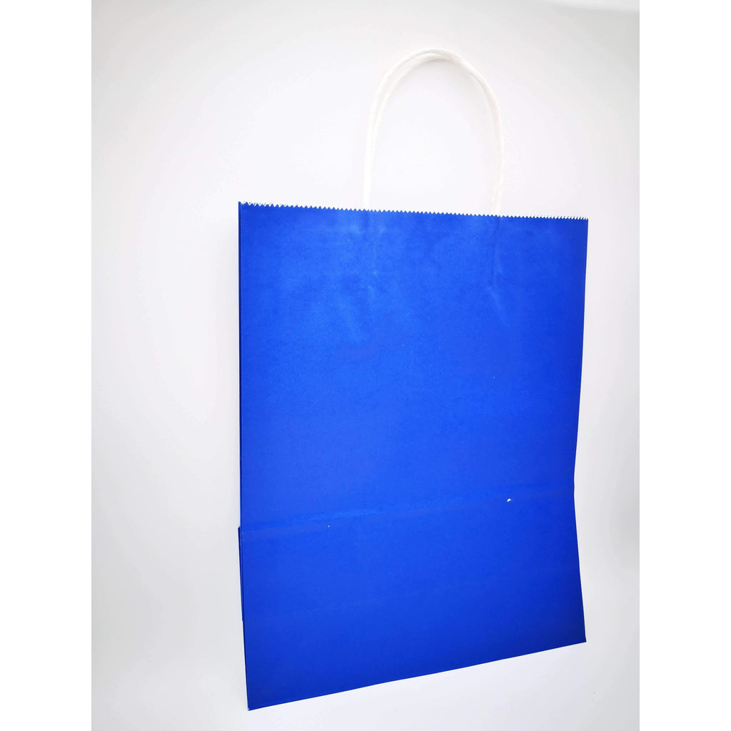 GIFT BAG LARGE  - 091 - PLAIN DARK BLUE