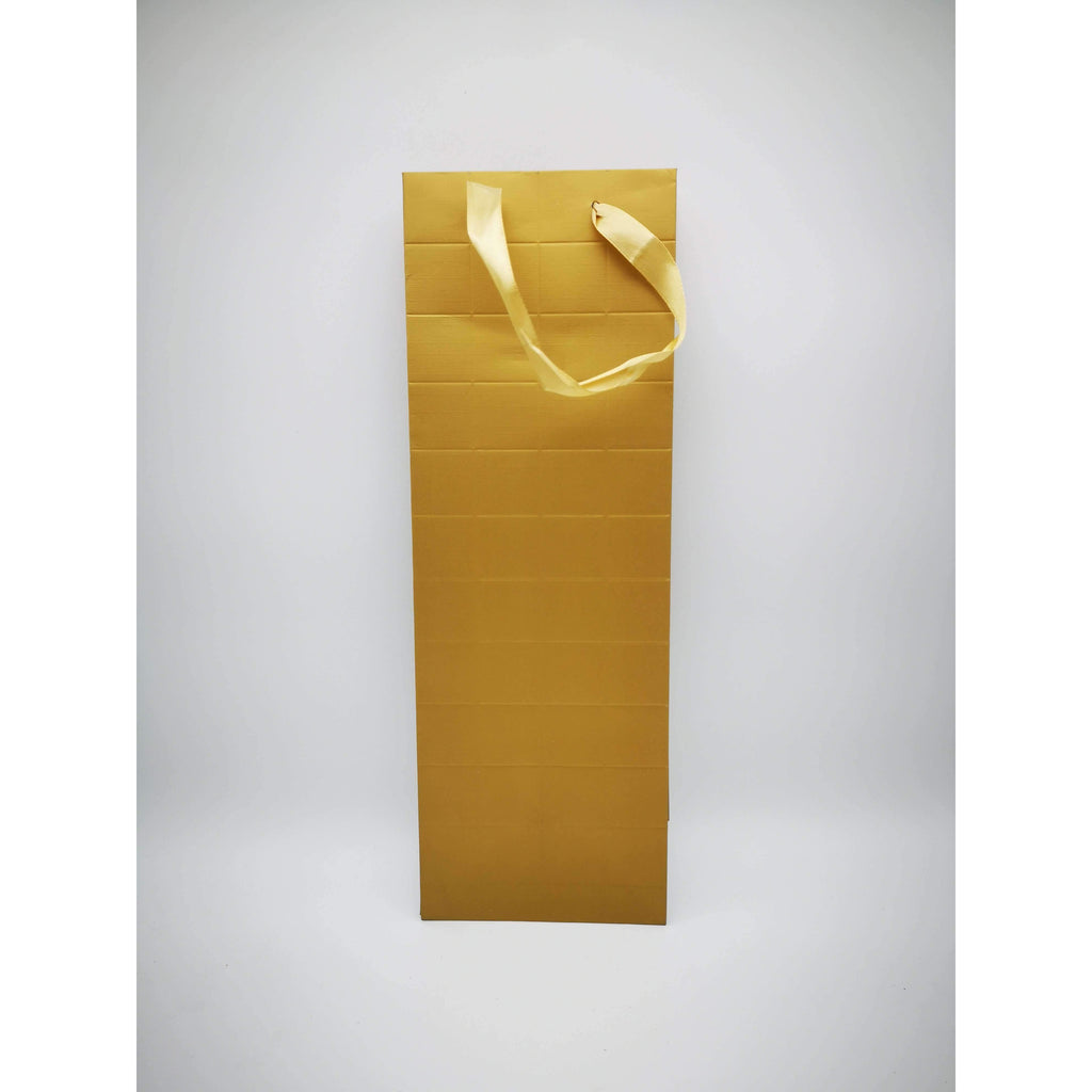 GIFT BAG - 136 - GOLD BOTTLE BAG