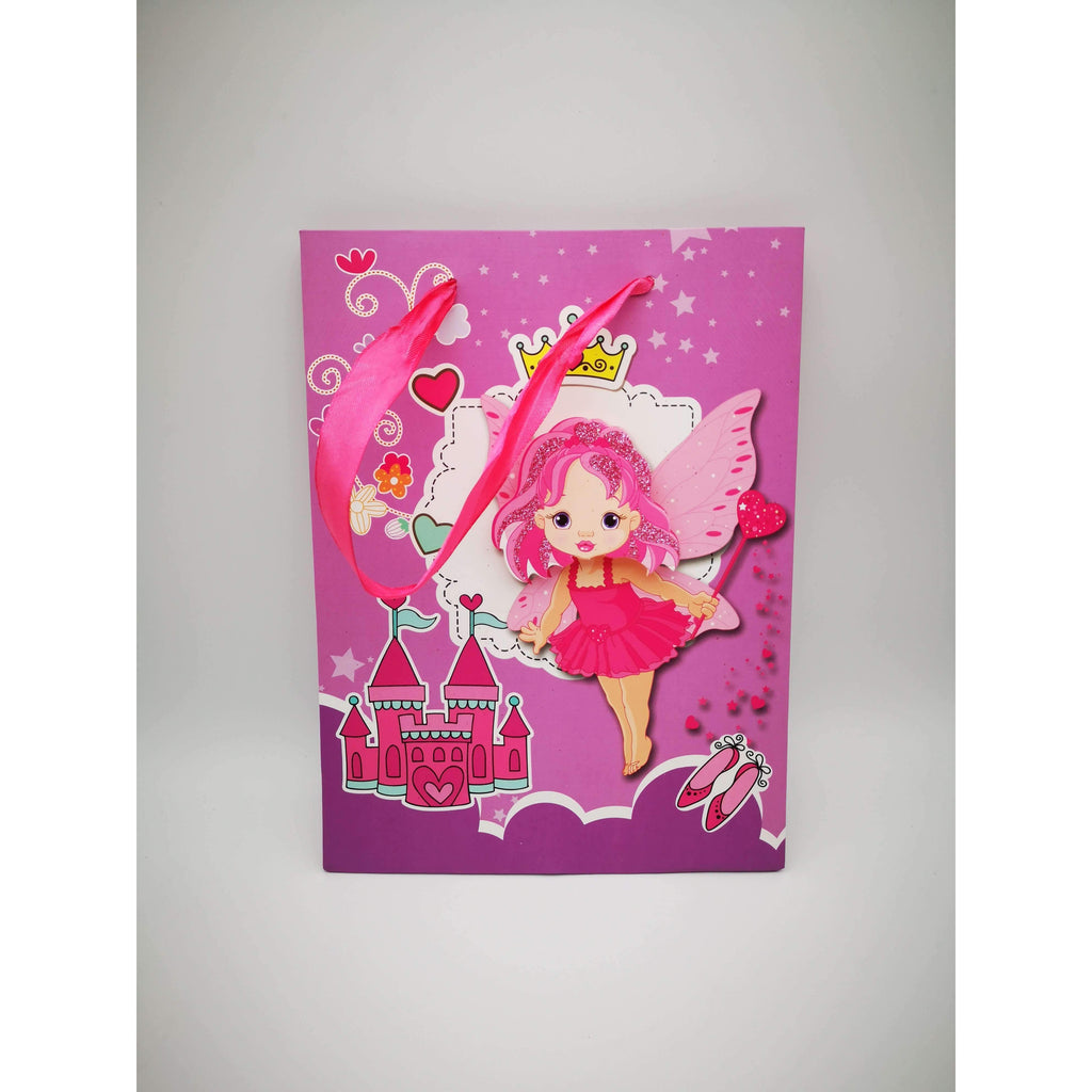 GIFT BAG - 173 - 3D FAIRY WITH CASTLE