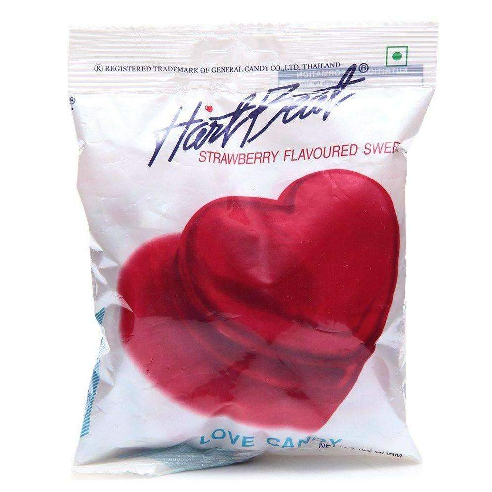 HEART BEAT EXOTIC STRAWBERRY 1Kg 166's