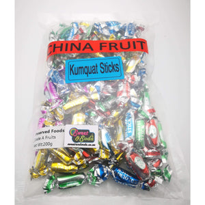 KUMQUAT STICKS 200g