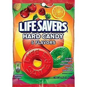 Lifesavers 5 flavour 177g bag