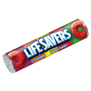 Lifesavers 5 flavour 32g roll