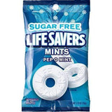 Lifesavers sugar free pep o mint 78g