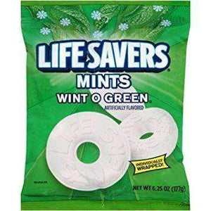 Lifesavers wintogreen 177g bag