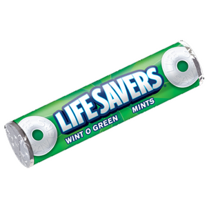 Lifesavers Wintogreen Roll