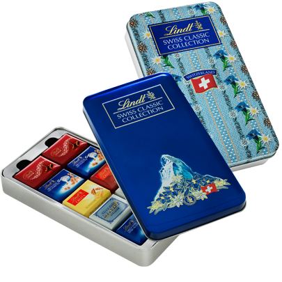 LINDT SWISS CLASSIC COLLECTION TIN 185g