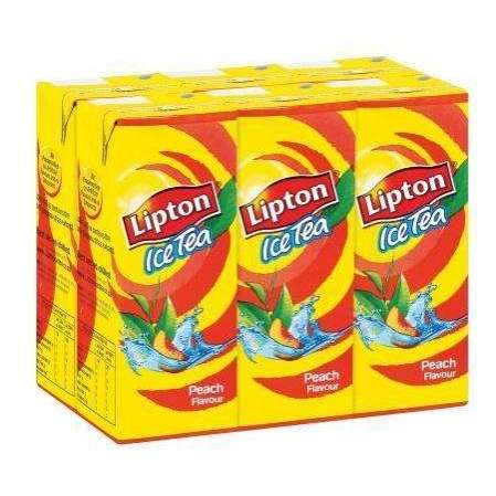 LIPTON I/TEA PEACH 6x200ml