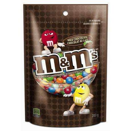 M&M's MILK CHOCOLATE 200g POUCH