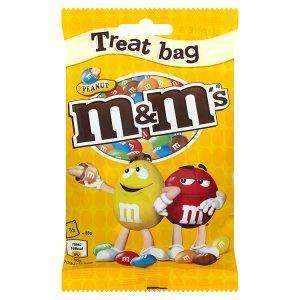 M&M's PEANUT 100g BAG