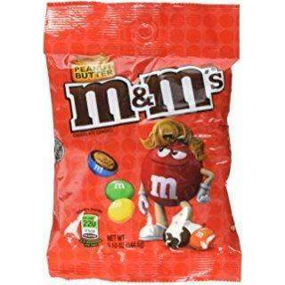 M&M's PEANUT BUTTER 145g BAG