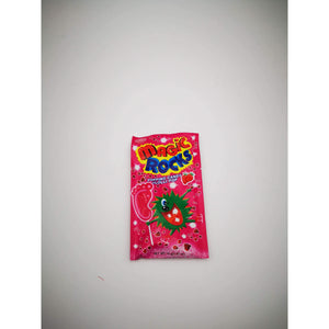 MAGIC ROCKS POPPING CANDY + LOLLY STRAWBERRY