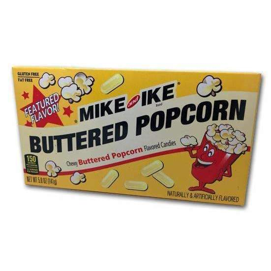 MIKE & IKE BUTTER POPCORN THEATER BOX