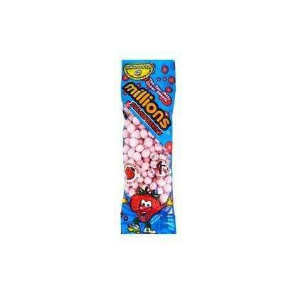 MILLIONS CANDY STRAWBERRY 20g MINI BAG