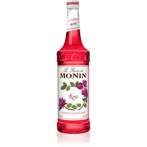 MONIN ROSE SYRUP 1Lt