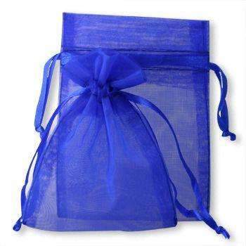 ORGANZA BAGS 7x9 x 10pcs ROYAL