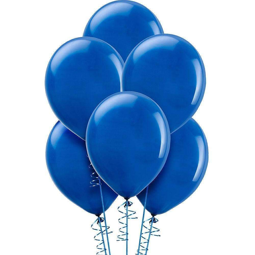 "PARTY BALLOONS 12"" 10 PACK METALLIC PEARL BLUE"