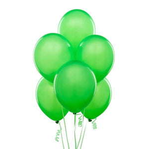 "PARTY BALLOONS 12"" 10 PACK NEON GREEN"